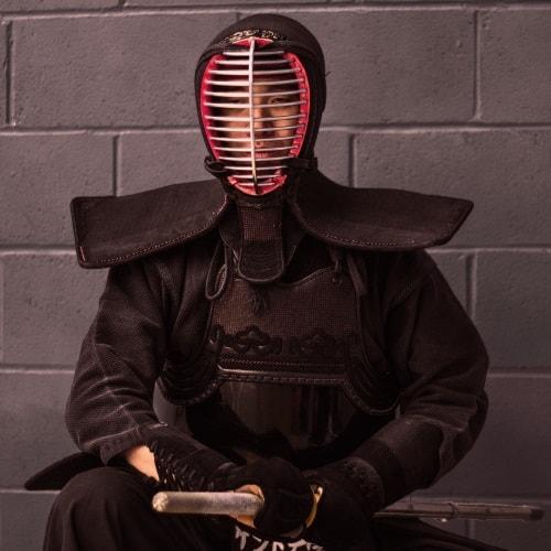 A photograph of a ninja